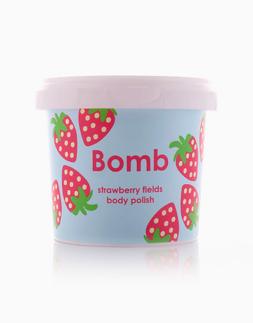 Strawberry Fields Body Polish by Bomb Cosmetics