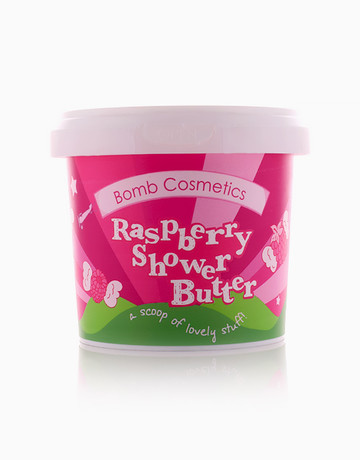 Raspberry Blower Cleansing Shower Butter by Bomb Cosmetics