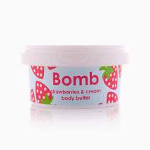 Strawberry & Cream Body Butter by Bomb Cosmetics