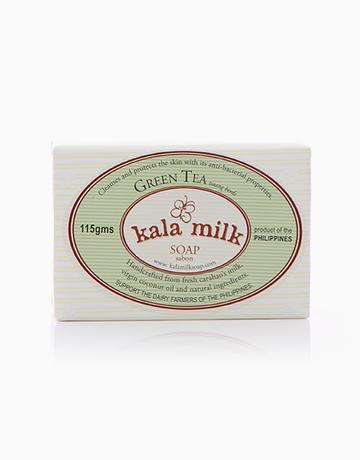 Green Tea Milk Soap by Kala Milk