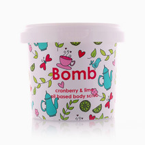 Cranberry Shower Scrub  by Bomb Cosmetics