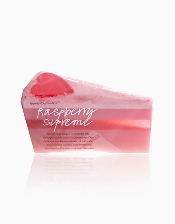 Raspberry Soap Cake by Bomb Cosmetics