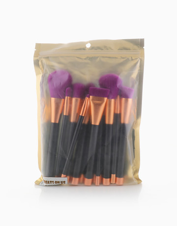 15-piece brush set by Treats on Us
