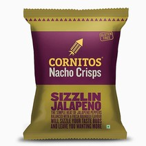 Nacho Sizzlin' Jalapeno (150g) by Cornitos Nacho Crisps