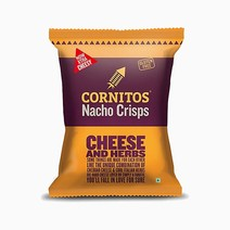 Nacho Crisps Cheese & Herbs (60g) by Cornitos Nacho Crisps
