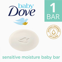 Sensitive Bathing Bar (75g) by Baby Dove