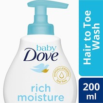 Rich Baby Wash (200ml) by Dove
