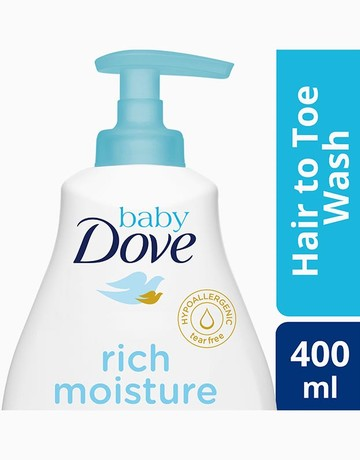 Rich Baby Wash (400ml) by Dove