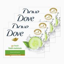 Fresh Cool Moisture (4 Bars) by Dove