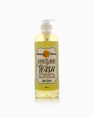 Kiwi Body Wash (500ml) by Messy Bessy