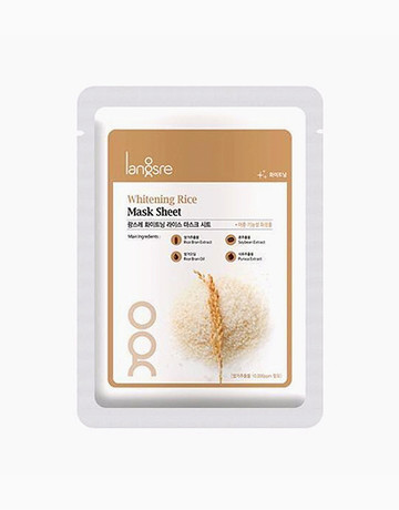 Rice Mask Sheet by Langsre