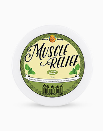 Muscle Relief Rub (100g) by Messy Bessy