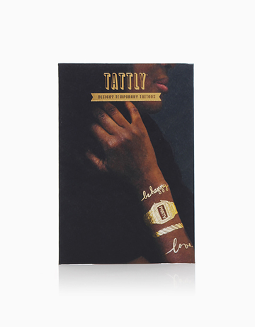 Gold Bracelet Set by Tattly