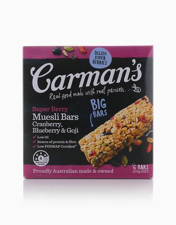 Superberry Muesli Bar (270g) by Carman's