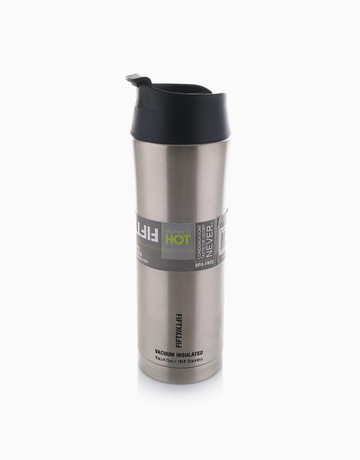 Double-Wall Vacuum Insulated Coffee Cup (16oz/473ml) by Fifty Fifty