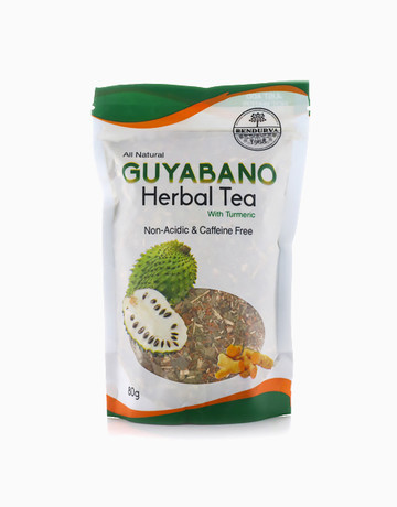 Guyabano Herbal Tea with Turmeric (80g) by Bendurya