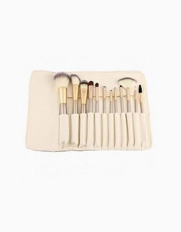 12pc Brush Set w/ Case by Brush Works