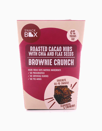 Roasted Cacao Nibs Brownie Crunch by Snack Box