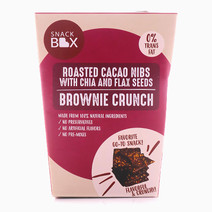 Roasted Cacao Nibs With Chia and Flaxseeds Brownie Crunch by Snack Box