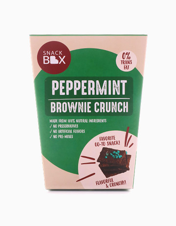 Peppermint Brownie Crunch by Snack Box
