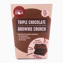 Triple Chocolate Brownie Crunch by Snack Box
