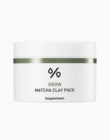 Grow Matcha Clay Pack by Leegeehaam