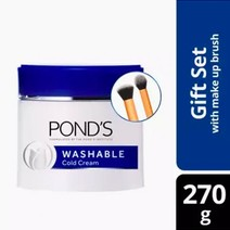 Washable Cream w/ Brushes by Pond's