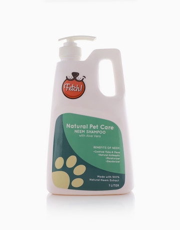 Neem Natural Shampoo (1L) by Fetch! Naturals