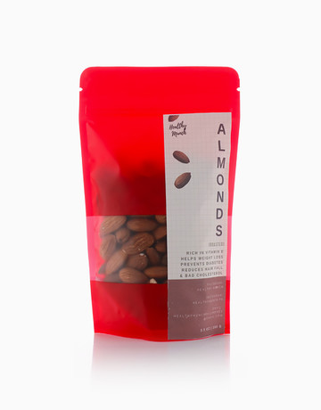 Roasted Almonds (100g) by Healthy Munch