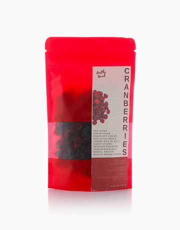 Dried Cranberries (67g) by Healthy Munch