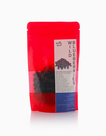 Dried Wild Blueberries (60g) by Healthy Munch