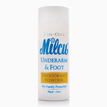 2 in 1 Deodorant Powder (80g) by Milcu