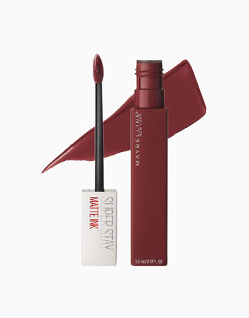 Superstay Matte Ink Liquid Lipstick By Maybelline Beautymnl