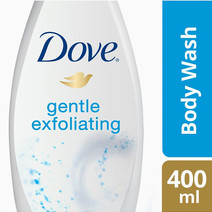 Body wash gentle exfoliating 400ml