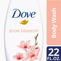 Body Wash Snow Blossom 22oz by Dove