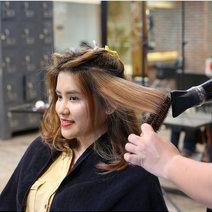 Argan Hair Masque Treatment + Cut by Sr. Stylist by Azta Urban Salon