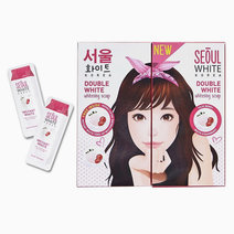 6x90g Whitening Soap FREE 2 sachets Tone-Up Cream by Seoul White Korea in