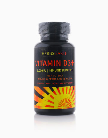 Vitamin D3 5,000 IU by Herbs of the Earth