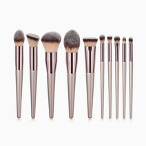 Champagne 10pc Brush Set by Brush Works