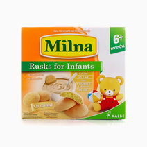 Milna Rusk for Infants, 12 Pieces (130g) by Milna Baby Food