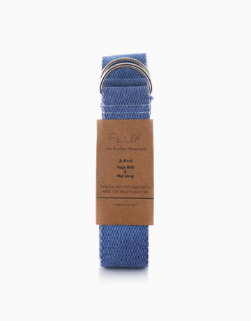 Blue 2-in-1 Yoga Strap by Flux Movement