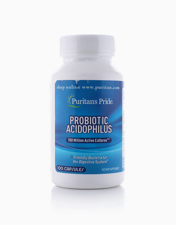 Probiotic Acidophilus 100M (100 Caps) by Puritan's Pride