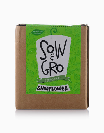 Sunflower Seedling Kit by Sow and Gro