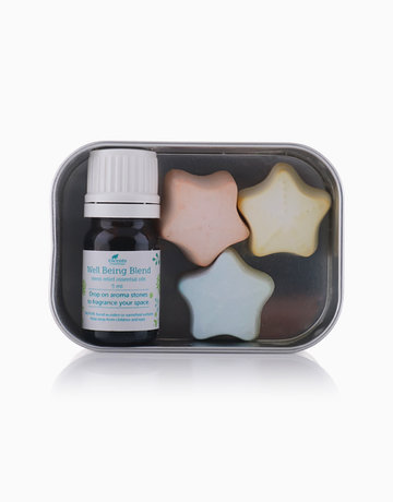 Well Being Blend Aroma Stone Kit by Escents PH