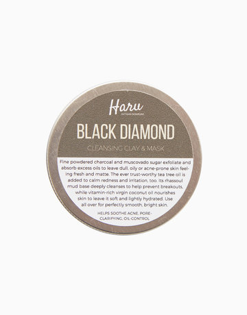 Black Diamond Clay Cleanser & Mask by Haru Artisan Soaperie