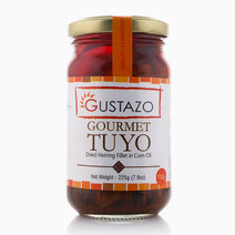 Gourmet Tuyo Mild in Corn Oil (225g) by Gustazo