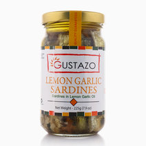 Lemon Garlic Sardines (225g) by Gustazo