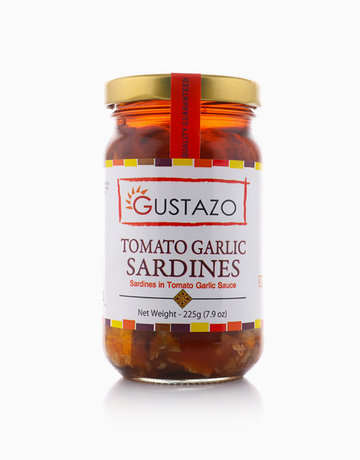 Tomato Garlic Sardines (225g) by Gustazo
