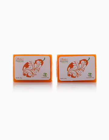 Papaya Soap (Set of 2) by SVR Infinity