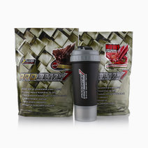Promatrix7 Set of 2 with Typhoon Shaker (Chocolate and Strawberry, 2lbs) by Promatrix 7